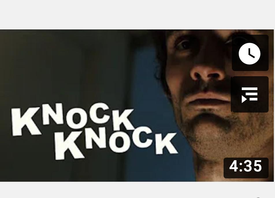 Knock Knock, court-métrage MMI
