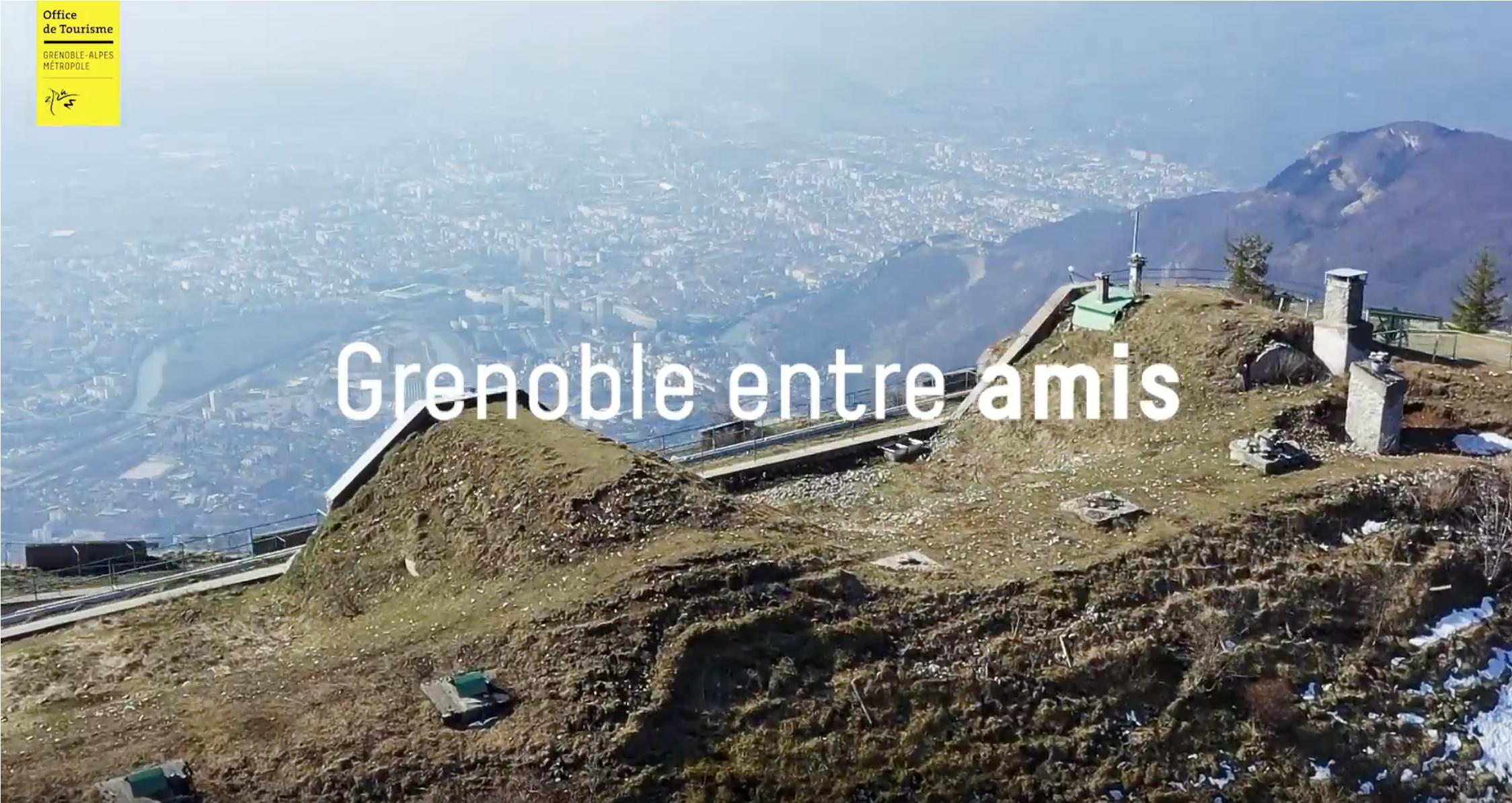 Grenoble entre Amis, film de Comm