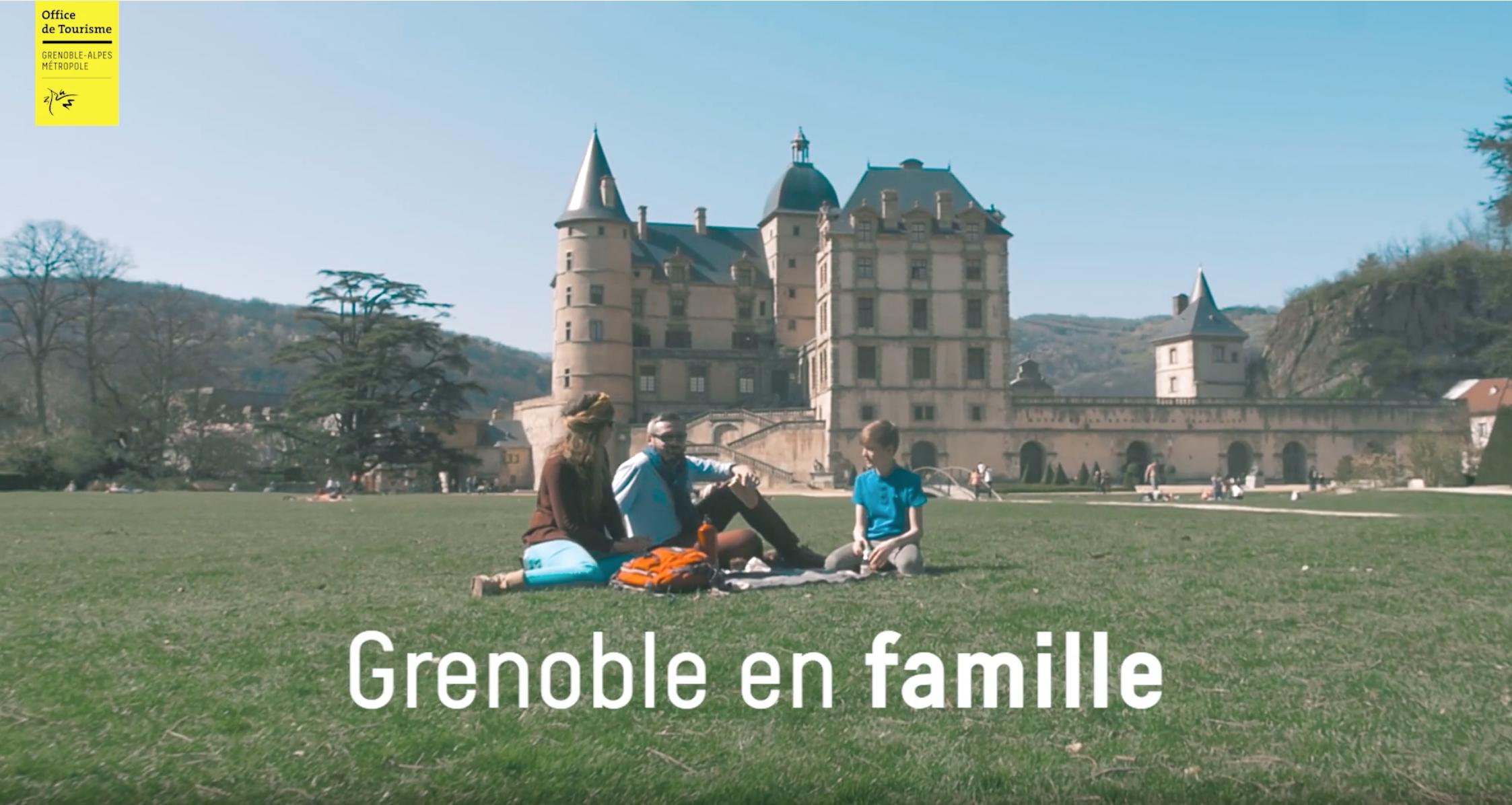 Grenoble en famille, film de Communication
